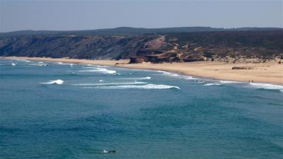 praia carrapateria bordeira 2