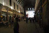 Calle Recta, tramo cubierto