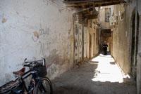 Bici en las calles de Damasco