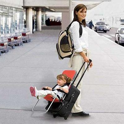 Invento para estas vacaciones maleta para viajar con for Motorized ride on suitcase