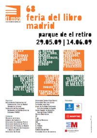 feria del libro madrid 2009 cartel ss