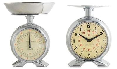 pesa y reloj cualquier tiempo pesado s