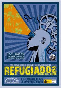 cartel refugiados en el cine 2009 s