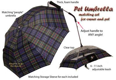 explicacion paraguas perros pet umbrella