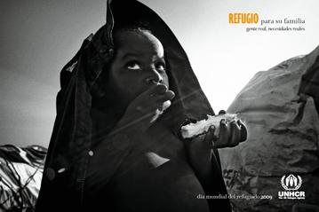 gente real necesidades reales dia mundial refugiado acnur 2009
