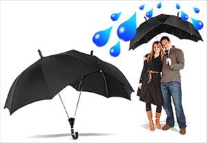 twin umbrella