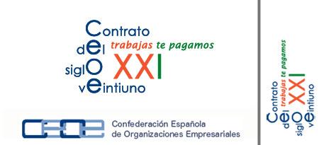 ceoe logo contrato siglo veintuno