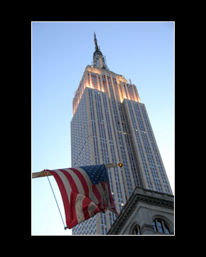 flagged empire state s