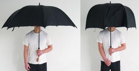 paraguas plegable lateral