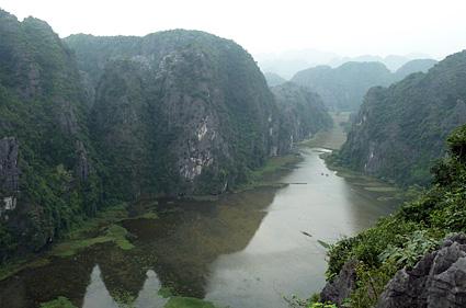 rio ngo dong en tam coc desde cueva de mua vietnam P1100350 s